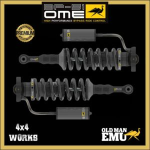 """Old Man Emu OME BP-51 Bypass Shock Absorbers Ford Ranger PX3 2019-on - 2"""" 50mm Front Pair"""
