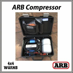 ARB Twin Portable Air Compressor with Carry Case & Tank 24v