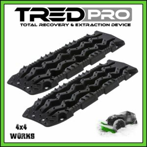 TRED Pro Recovery Boards Black-Black
