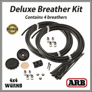 ARB Deluxe Differential Diff Breather Kit and Filter - 4 Breathers