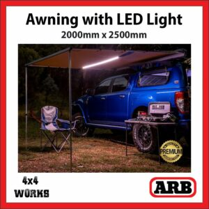 ARB Awning with LED Lighting 2000x2500mm