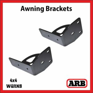 ARB Galvanised Awning Brackets with Gusset - Pair