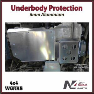 N4 Skid Plate Underbody Protection Dacia Duster II 2017-on Tank - Silencer Bash Guard