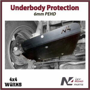 N4 Skid Plate Underbody Protection Dacia Duster II 2017-on Rear Arms Bash Guard