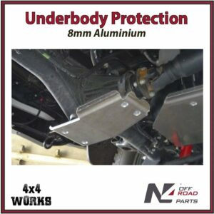 N4 Skid Plate Underbody Protection Toyota Hilux 2015-on Revo Rear Differential Bash Guard