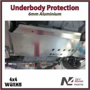 N4 Skid Plate Underbody Protection Dacia Duster II 2017-on Catalytic Converter Bash Guard