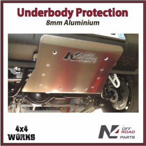 N4 Skid Plate Underbody Protection Suzuki Jimny 2018-on 8mm Front Bash Guard