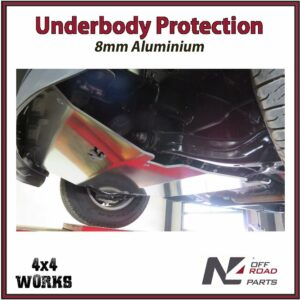 N4 Skid Plate Underbody Protection Ford F150 XLT 2008-on Front Bash Guard