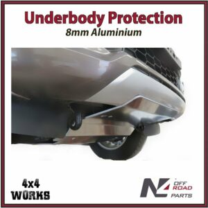 N4 Skid Plate Underbody Protection Mitsubishi L200 MQ MR 2015-on Front Bash Guard