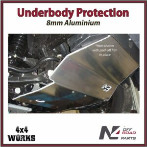 N4 Skid Plate Underbody Protection Ford Ranger PX1 PX2 2011-19 Front Bash Guard