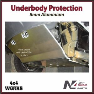 N4 Skid Plate Underbody Protection Volkswagen Crafter VW 4WD 4x4 2006-18 Front Bash Guard