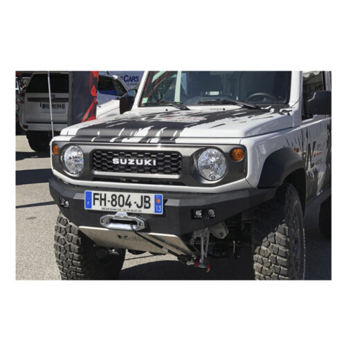 N4 Front Winch Bumper Suzuki Jimny 2018-on - With LED Lights