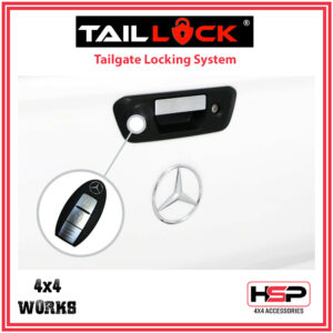 HSP Tail Lock Mercedes-Benz X-Class 2017-on Tailgate Central Locking
