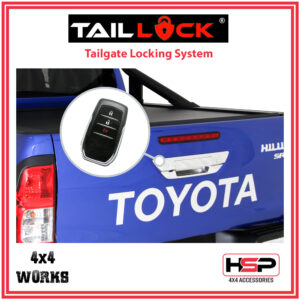 HSP Tail Lock Toyota Hilux 2015-17 Tailgate Central Locking