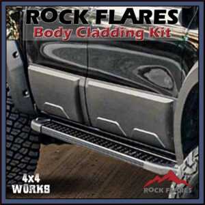 Rock Flares Body Cladding Mercedes-Benz X-Class Pickup 2017-on