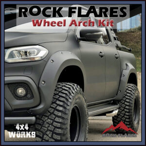 Rock Flares Wide Wheel Arches Mercedes-Benz X-Class Pickup 2017-on Bolt Look