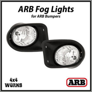 ARB Fog Lights for ARB Bumpers - Pair (Type 1)