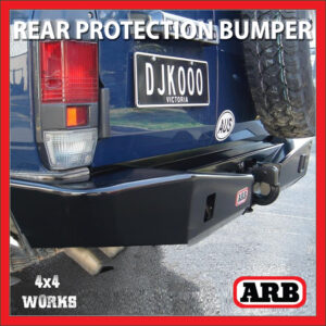 ARB Rear Protection Bumper Toyota Land Cruiser 76 Series 2007-on