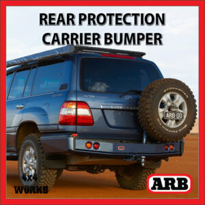 ARB Rear Protection Step Tow Bar Bumper and Accessory Carriers Toyota Land Cruiser 100 Series Amazon 1998-07
