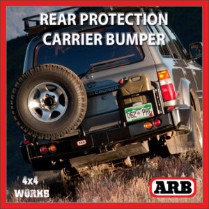 ARB Rear Protection Step Tow Bar Bumper and Accessory Carriers Toyota Land Cruiser 80 Series 1990-98