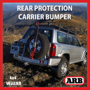 ARB Rear Protection Step Tow Bar Bumper and Accessory Carriers Nissan Patrol GU Y61 1997-10