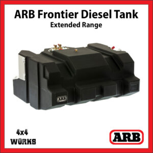 ARB Frontier Long Range Extended Diesel Fuel Tank Toyota Land Cruiser 70 Series 2007-on