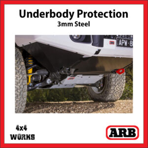 ARB Underbody Protection Kit UVP Toyota 200 Series 2015-on Bash Skid Plate