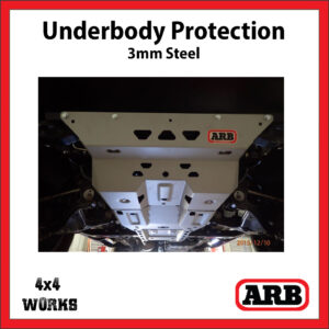 ARB Underbody Protection Kit UVP Toyota Hilux 2015-18 Bash Skid Plate