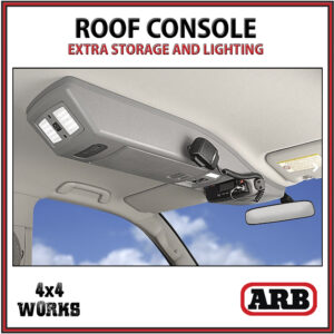 ARB Outback Roof Storage Console Toyota Land Cruiser 76 78 79 Series 1999-on