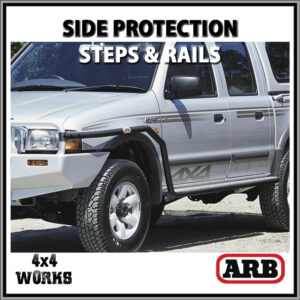 ARB Protection Side Steps and Rails Ford Ranger Courier 1999-07