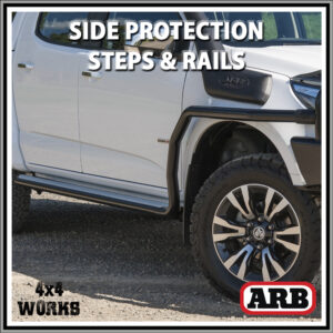 ARB Summit Protection Side Steps and Rails Isuzu D-Max Series 3 2020-on
