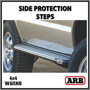 ARB Protection Side Steps Land Rover Discovery 2 1998-04