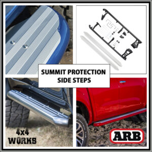 ARB Protection Side Steps Toyota Land Cruiser 200 Series 2007-on