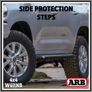 ARB Protection Side Steps Toyota Land Cruiser 100 Series Amazon 1998-07
