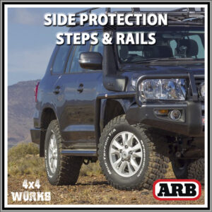 ARB Protection Side Steps and Rails Toyota Land Cruiser 200 Series 2007-on