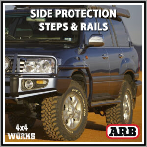 ARB Protection Side Steps and Rails Toyota Land Cruiser 100 105 Series Amazon 1998-07