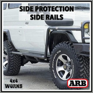 ARB Protection Side Rails Toyota Land Cruiser 75 Series 1985-07