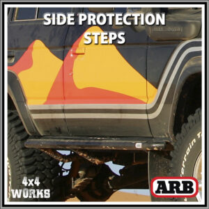 ARB Protection Side Steps Toyota Land Cruiser 60 Series 1980-90