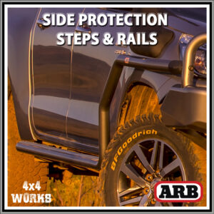 ARB Summit Protection Side Steps and Rails Toyota Hilux Series 8 2015-on