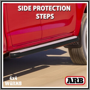 ARB Summit Protection Side Steps Toyota Hilux Series 8 2015-on