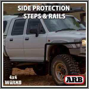 ARB Protection Side Steps and Rails Toyota Hilux Series 5 1988-97
