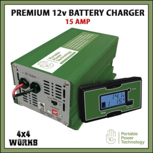 PPT Premium 15A 12V Leisure Battery Charger