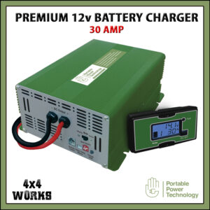 PPT Premium 30A 12V Leisure Battery Charger