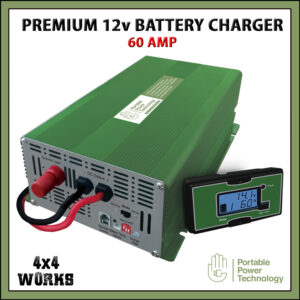 PPT Premium 60A 12V Leisure Battery Charger